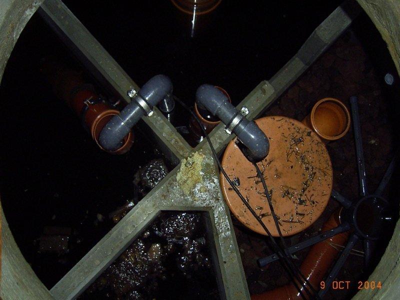 Tropfkörper-Kleinkläranlage in Geltendorf