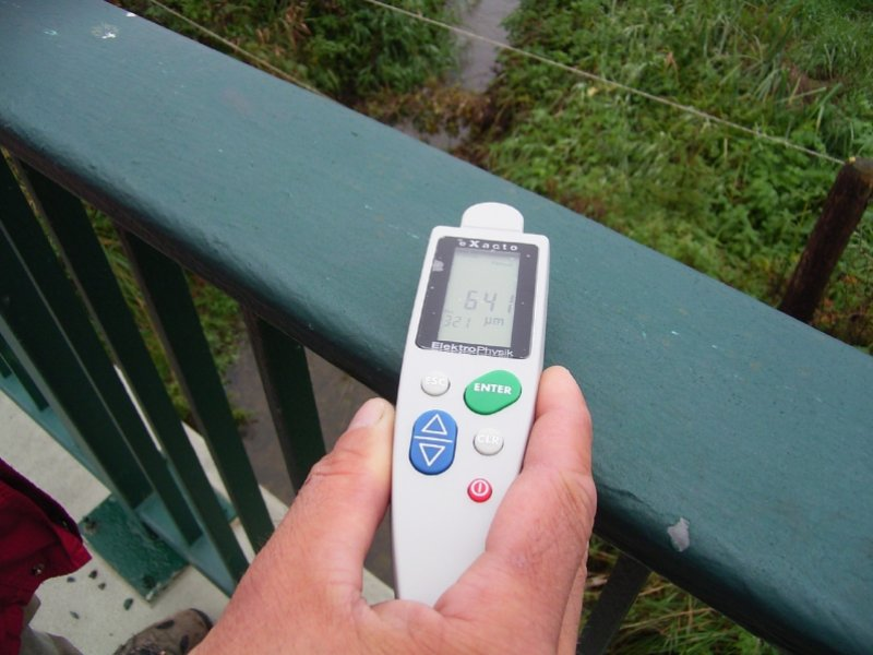 Messung der Schichtdicke von Verzinkung und Beschichtung