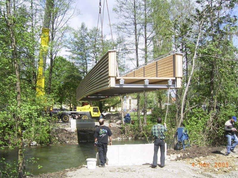 Neubau Geh- und Radwegbrücke über die Amper in…